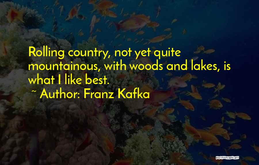 Mountainous Quotes By Franz Kafka
