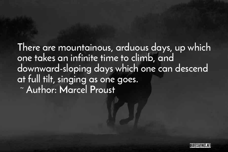 Mountainous Quotes By Marcel Proust