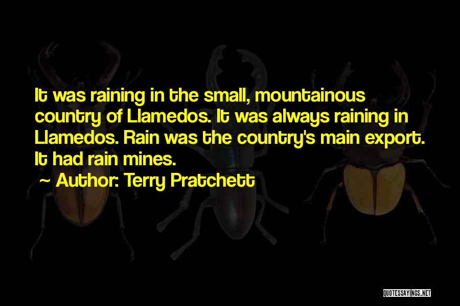 Mountainous Quotes By Terry Pratchett