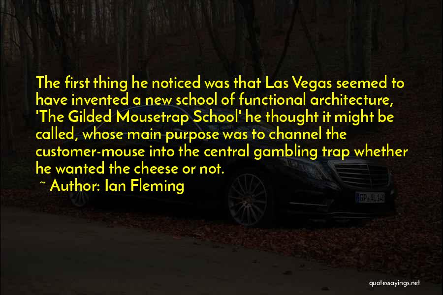 Mouse And Cheese Quotes By Ian Fleming