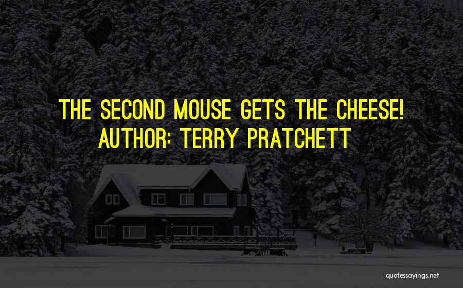 Mouse And Cheese Quotes By Terry Pratchett