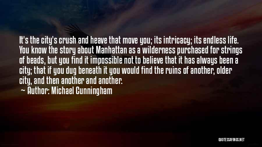 Move On From Crush Quotes By Michael Cunningham