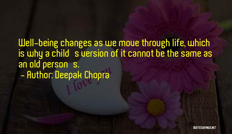 Move On Version Quotes By Deepak Chopra