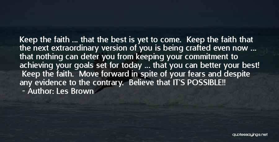 Move On Version Quotes By Les Brown