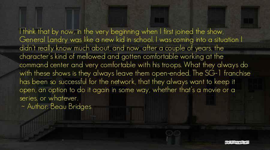Movie Always Quotes By Beau Bridges