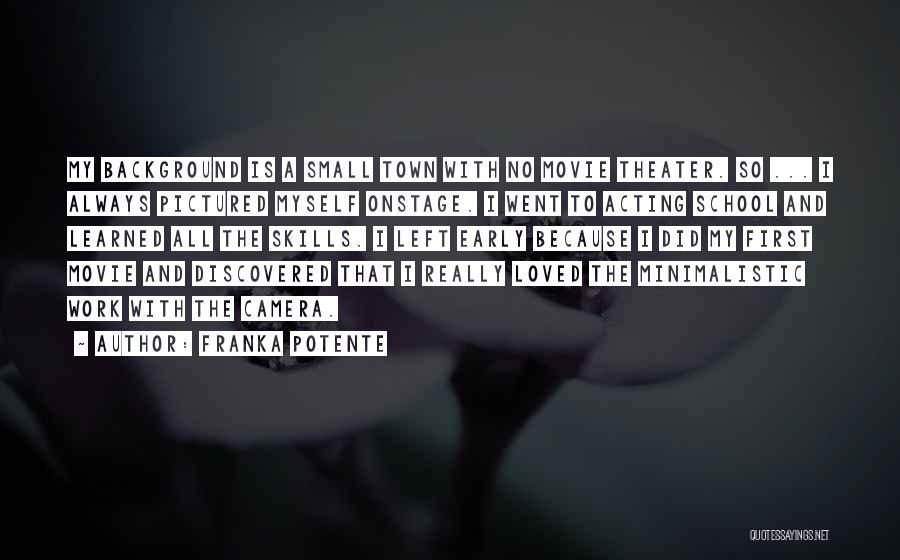 Movie Always Quotes By Franka Potente
