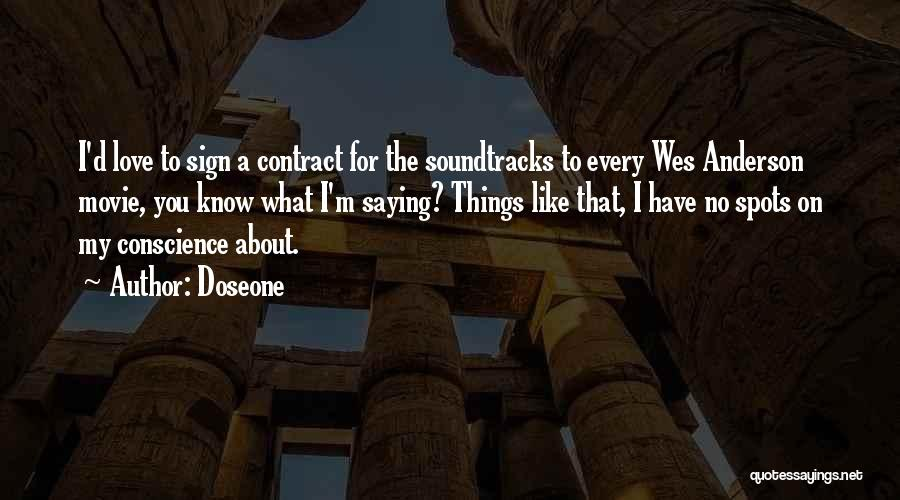 Movie Soundtracks Quotes By Doseone