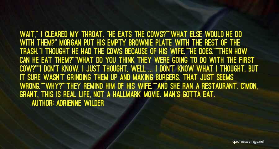 Movie Up Quotes By Adrienne Wilder