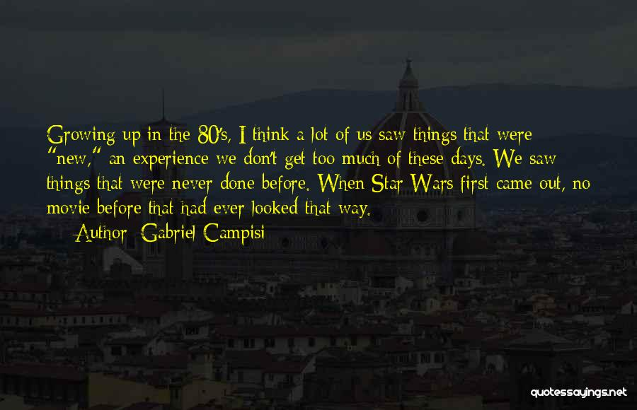 Movie Up Quotes By Gabriel Campisi