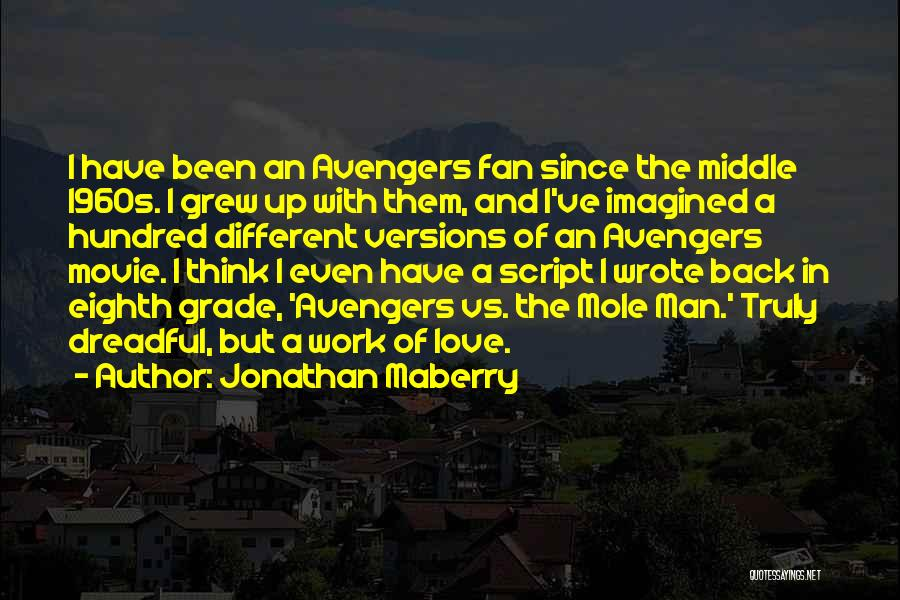 Movie Up Quotes By Jonathan Maberry