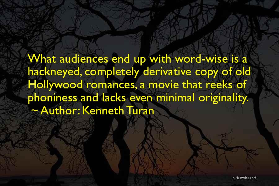 Movie Up Quotes By Kenneth Turan