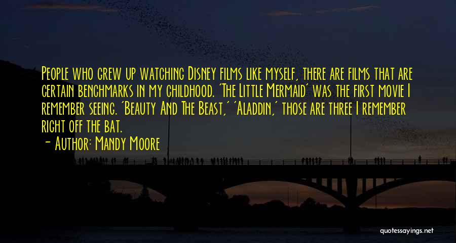 Movie Up Quotes By Mandy Moore