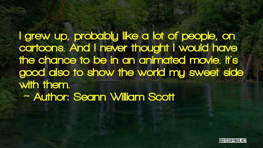 Movie Up Quotes By Seann William Scott