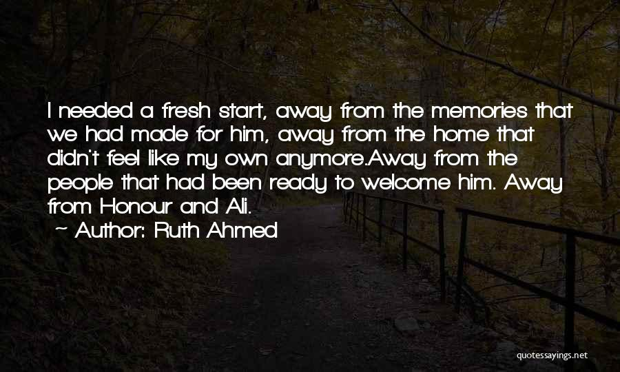 Top 19 Quotes & Sayings About Moving Far Away From Home