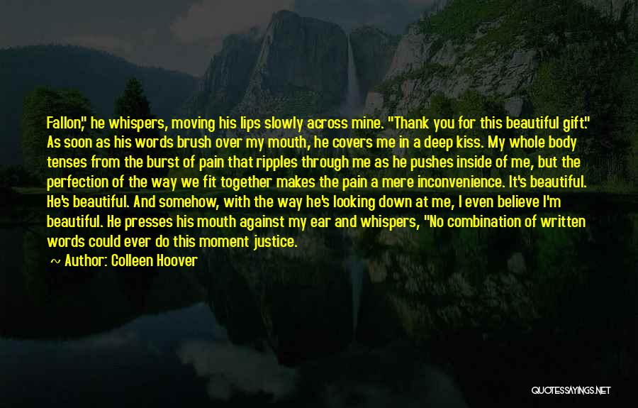 Moving In Together Quotes By Colleen Hoover