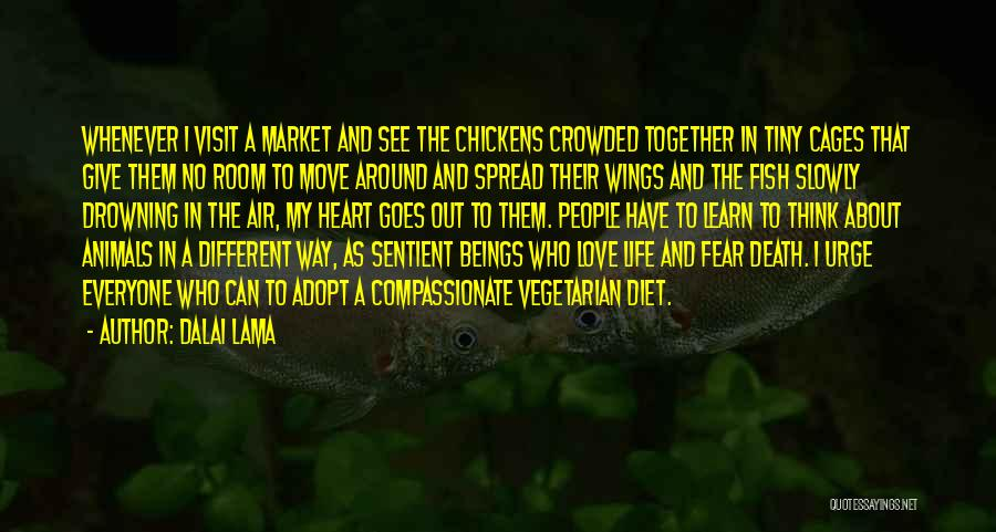 Moving In Together Quotes By Dalai Lama