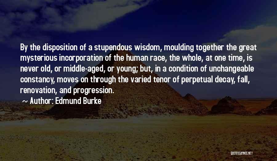 Moving In Together Quotes By Edmund Burke