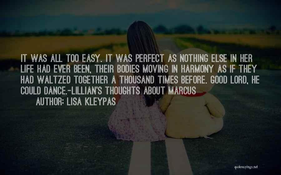 Moving In Together Quotes By Lisa Kleypas