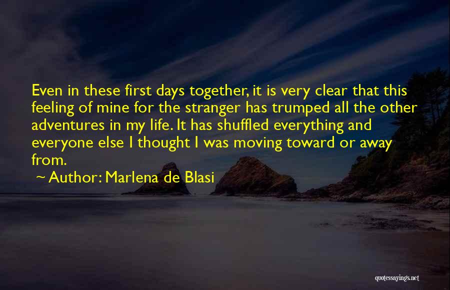 Moving In Together Quotes By Marlena De Blasi