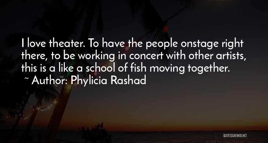 Moving In Together Quotes By Phylicia Rashad