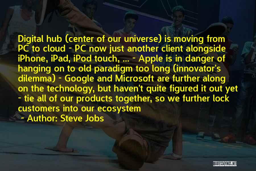 Moving In Together Quotes By Steve Jobs