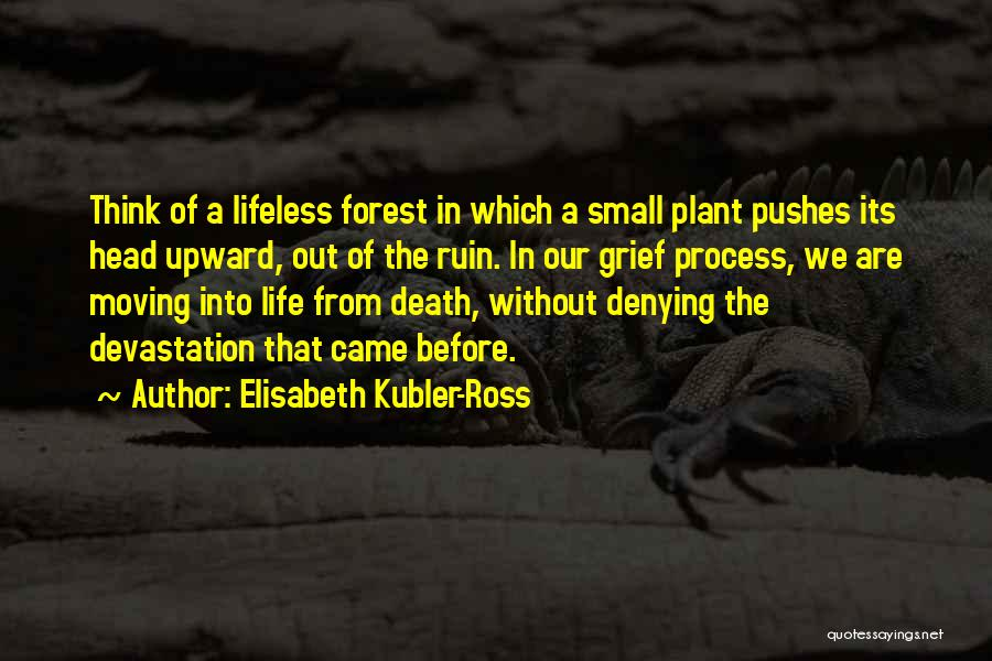 Moving On From Your Past Quotes By Elisabeth Kubler-Ross