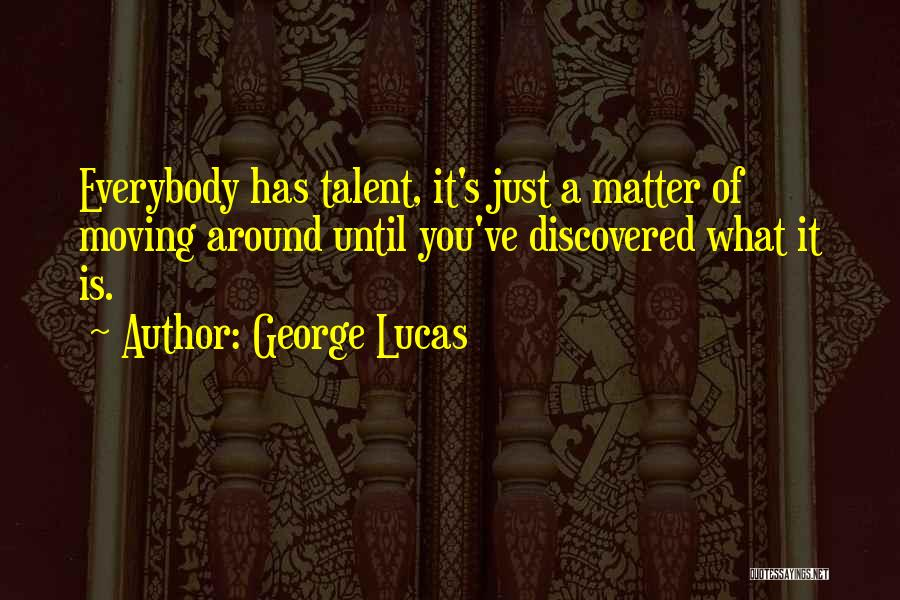 Moving On From Your Past Quotes By George Lucas