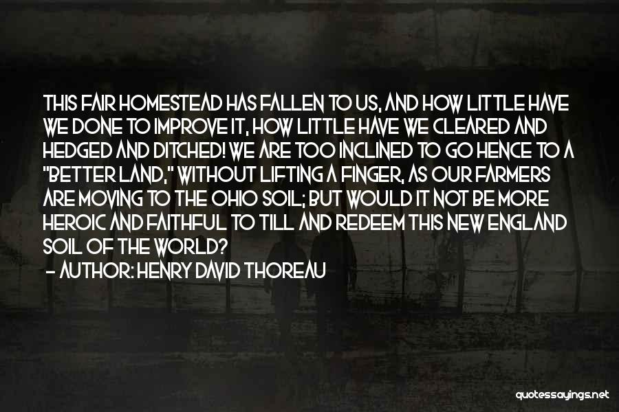 Moving On From Your Past Quotes By Henry David Thoreau