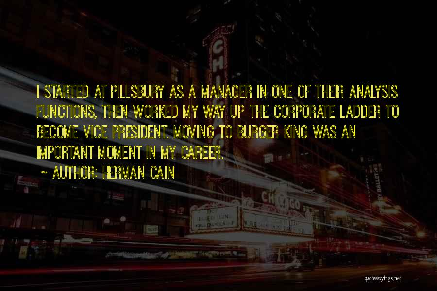 Moving On In Career Quotes By Herman Cain