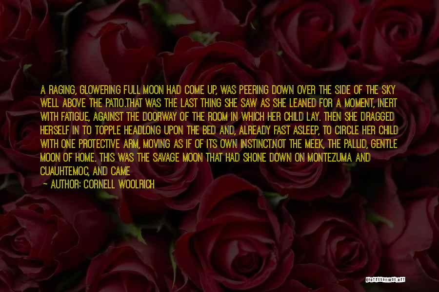 Moving On So Fast Quotes By Cornell Woolrich