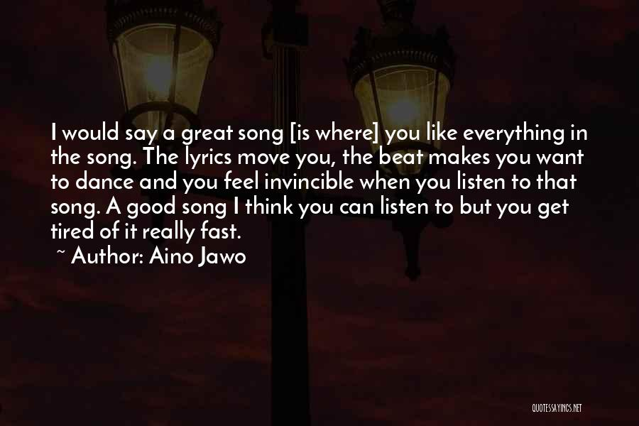 Moving On Song Lyrics Quotes By Aino Jawo