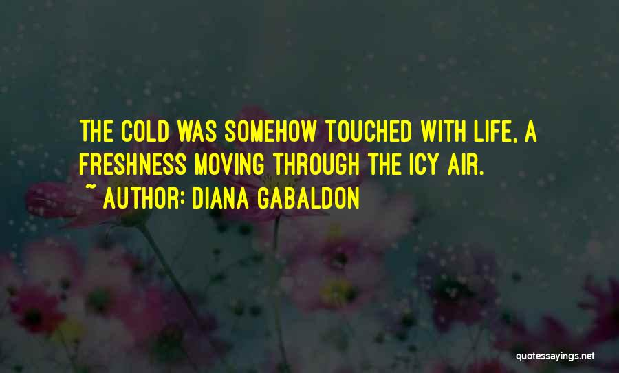 Moving Through Life Quotes By Diana Gabaldon