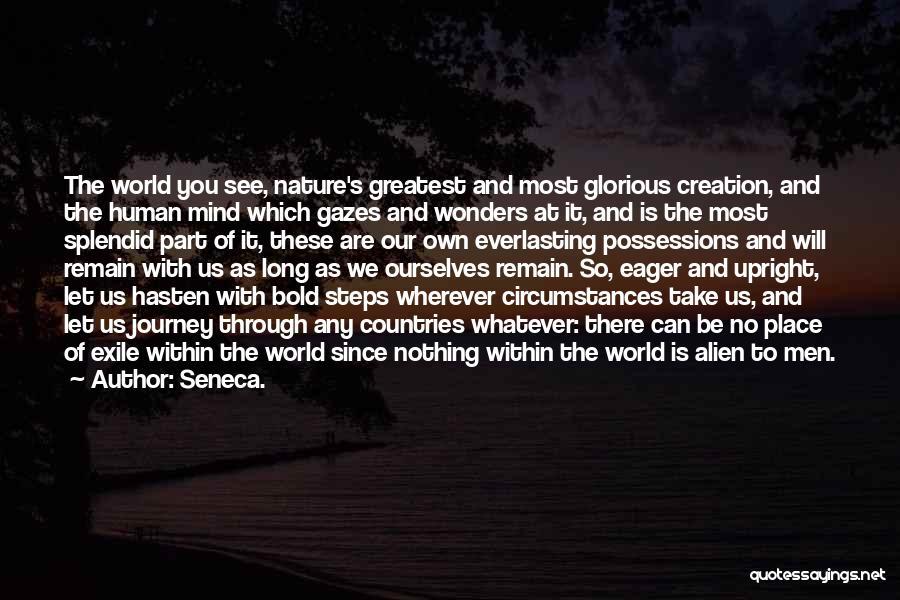 Moving Through Life Quotes By Seneca.