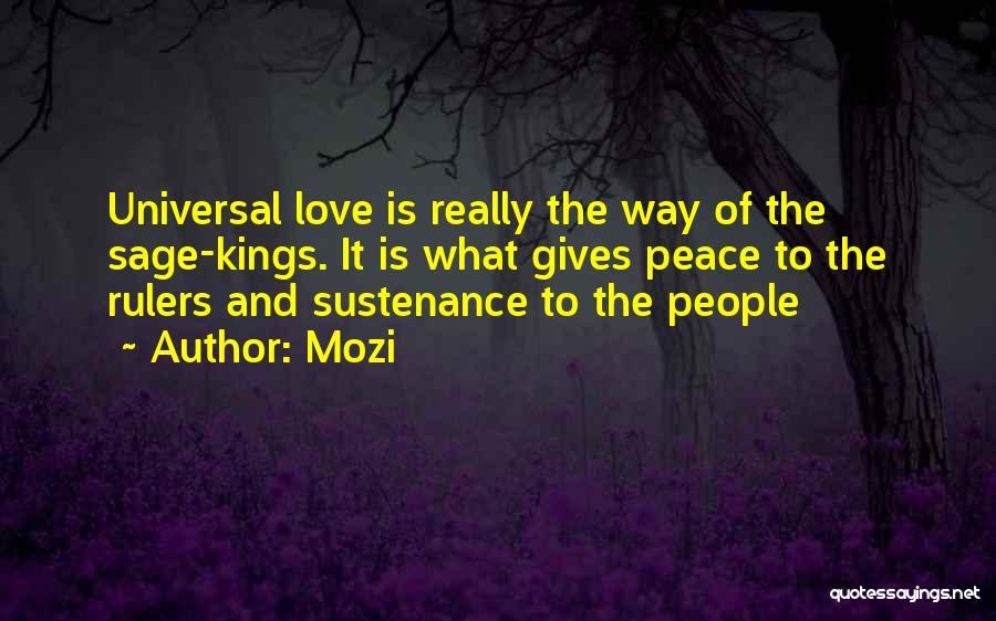 Mozi Quotes 1234469