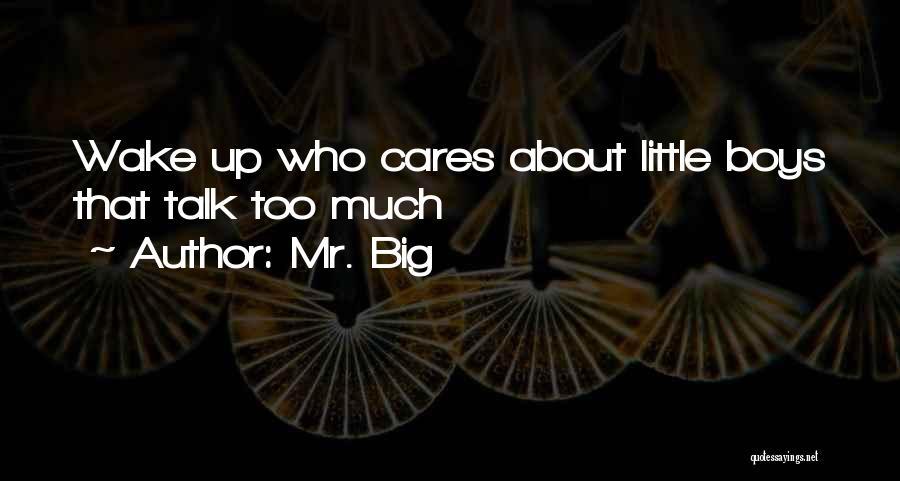 Mr. Big Quotes 2196659
