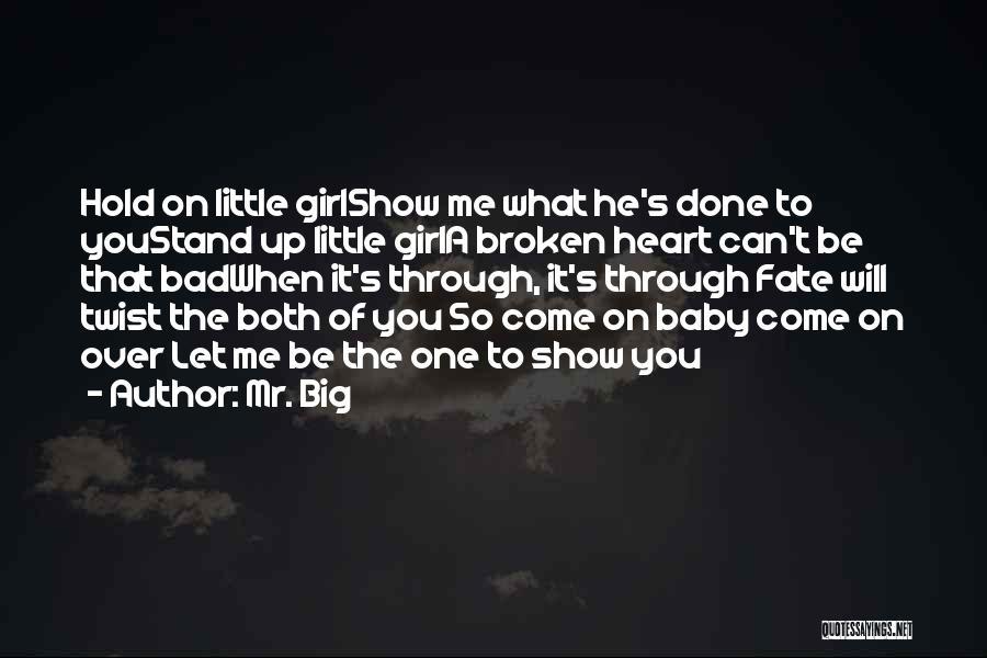 Mr. Big Quotes 804789