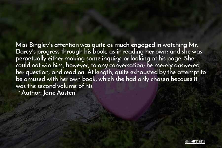 Mr Bingley Quotes By Jane Austen