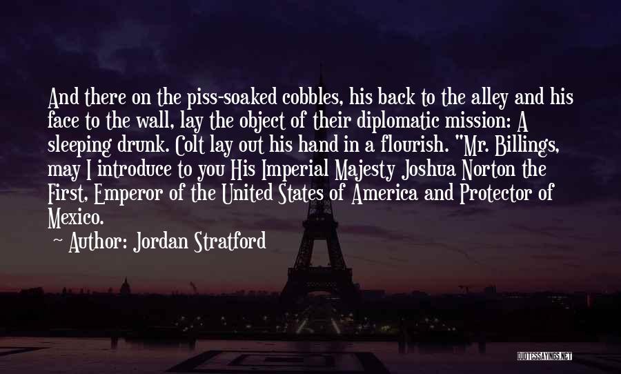 Mr Joshua Quotes By Jordan Stratford