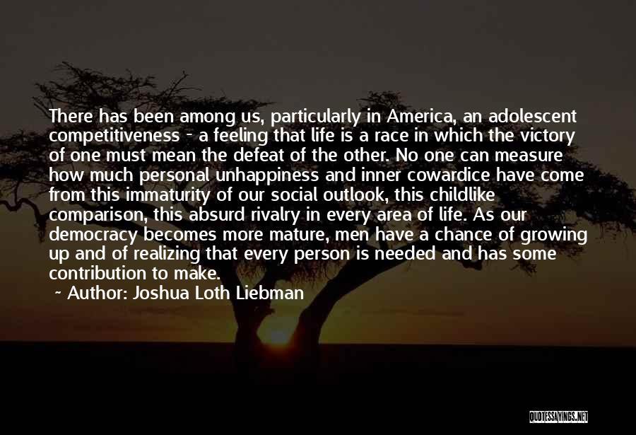 Mr Joshua Quotes By Joshua Loth Liebman