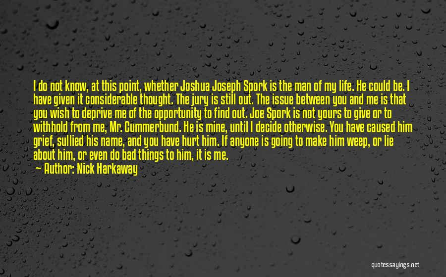 Mr Joshua Quotes By Nick Harkaway
