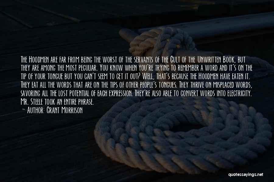 Mr Morrison Quotes By Grant Morrison