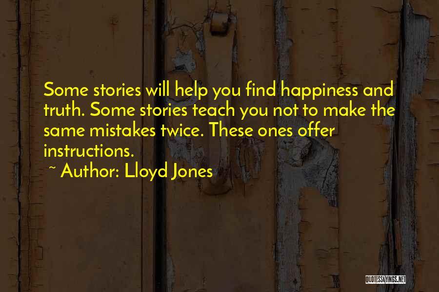Mr Pip Lloyd Jones Quotes By Lloyd Jones