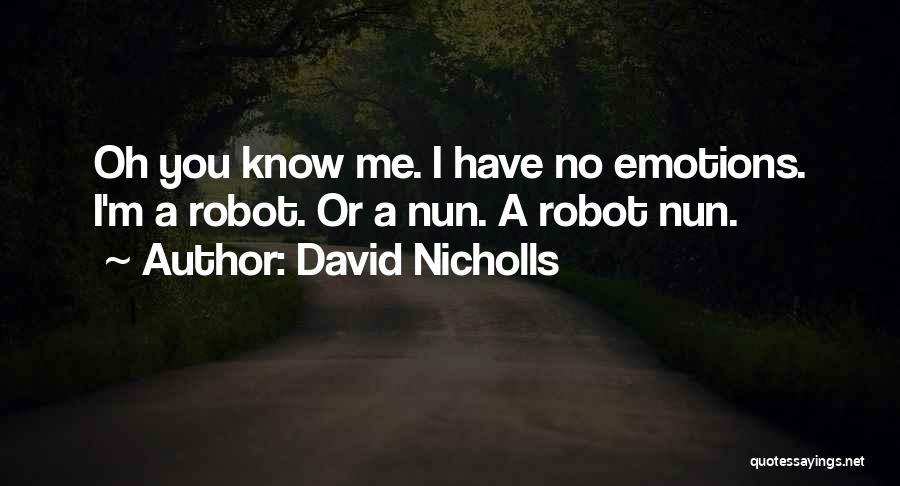 Mr Robot Quotes By David Nicholls