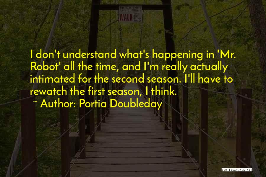 Mr Robot Quotes By Portia Doubleday