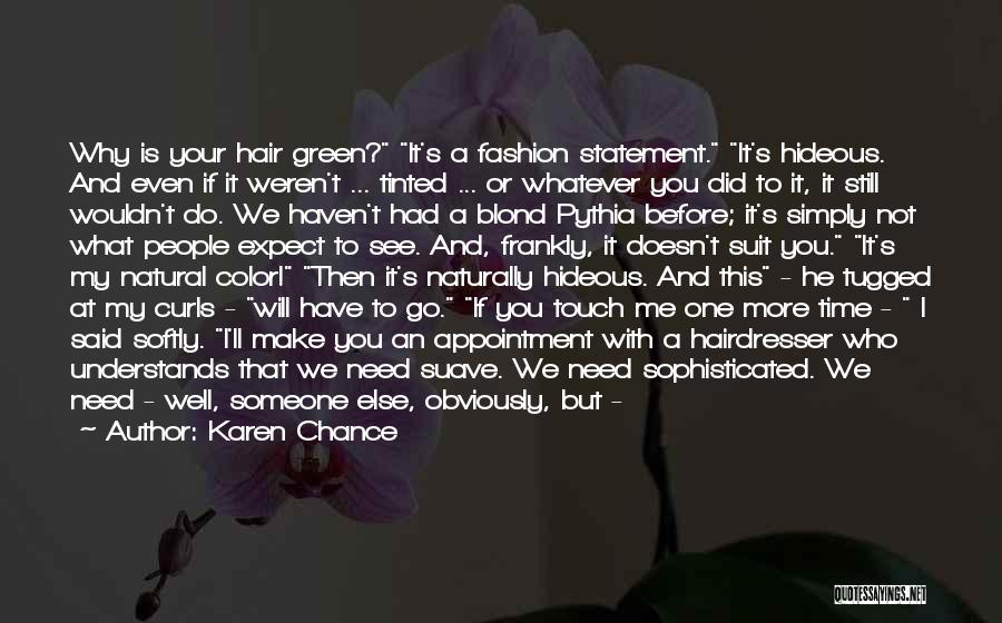Mr Suave Quotes By Karen Chance
