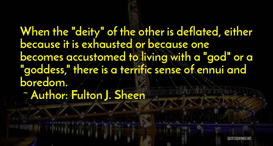 Mr Terrific Quotes By Fulton J. Sheen