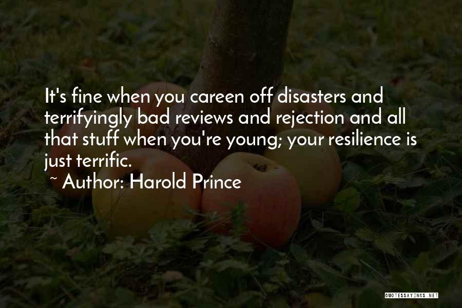 Mr Terrific Quotes By Harold Prince