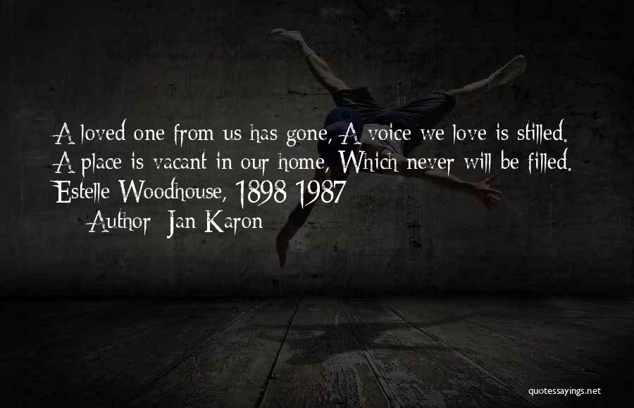 Mr Woodhouse Quotes By Jan Karon