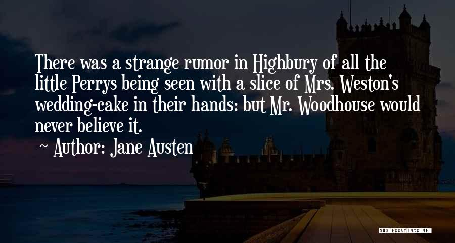 Mr Woodhouse Quotes By Jane Austen