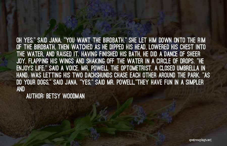 Mr. Woodman Quotes By Betsy Woodman